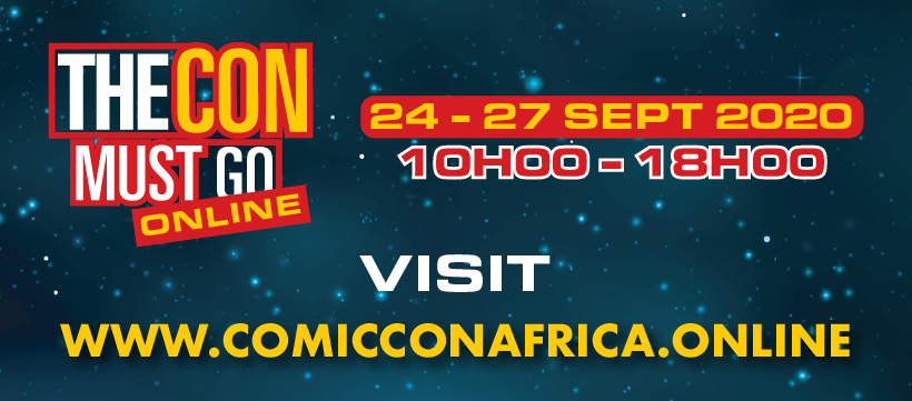 #ComicConAfricaOnline is coming!