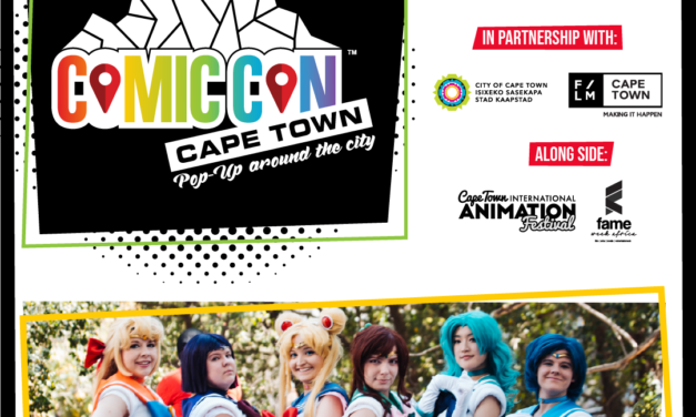 Comic Con Cape Town is coming to the Mother City for ONE day only!